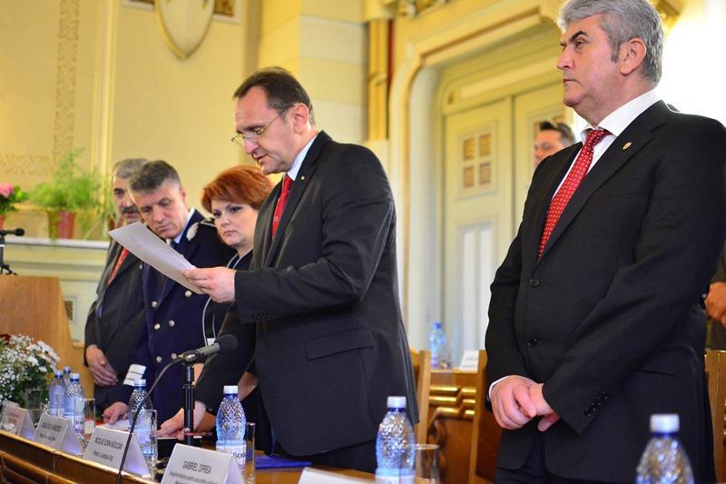 Sorin Raducan, investit prefect al judetului Dolj