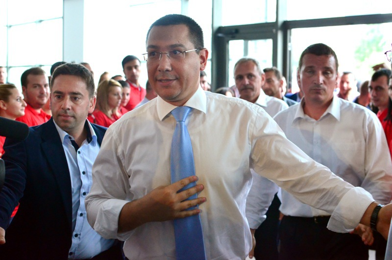 REACTIA NEASTEPTATA a lui Ponta dupa ce o jurnalista a fost agresata la mitingul Antenei 3. ULTIMA ORA