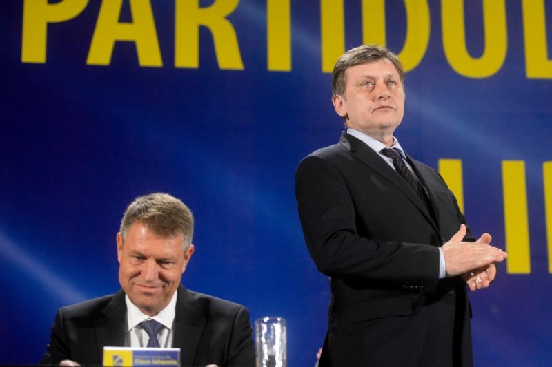 Antonescu nu participa la campania lui Iohannis.
