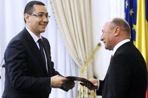 Ponta: Prefer să demisionez din funcţia de preşedinte decât să-l numesc pe Băsescu premier