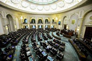 Defecţiune tehnică la Senat în momentul în care patru senatori doreau să-şi anunţe demisia din PNL