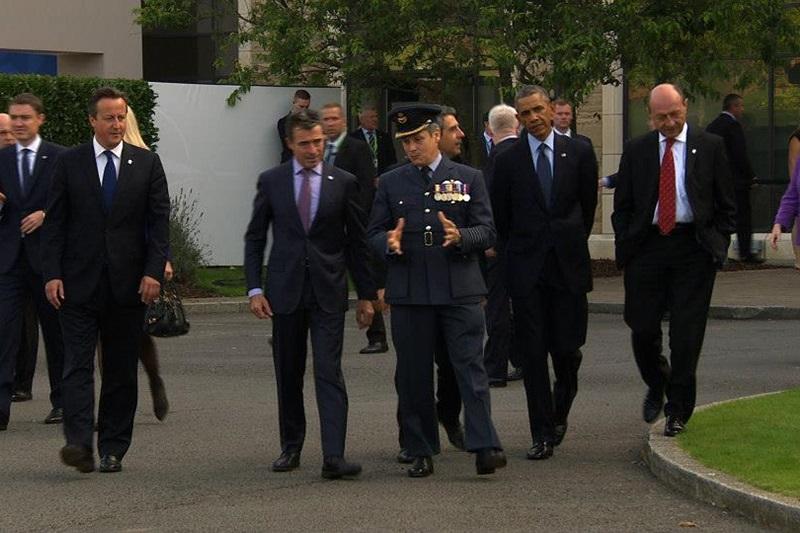 Basescu: ,,Vom avea un comandament NATO in Romania. Avem toata infrastructura