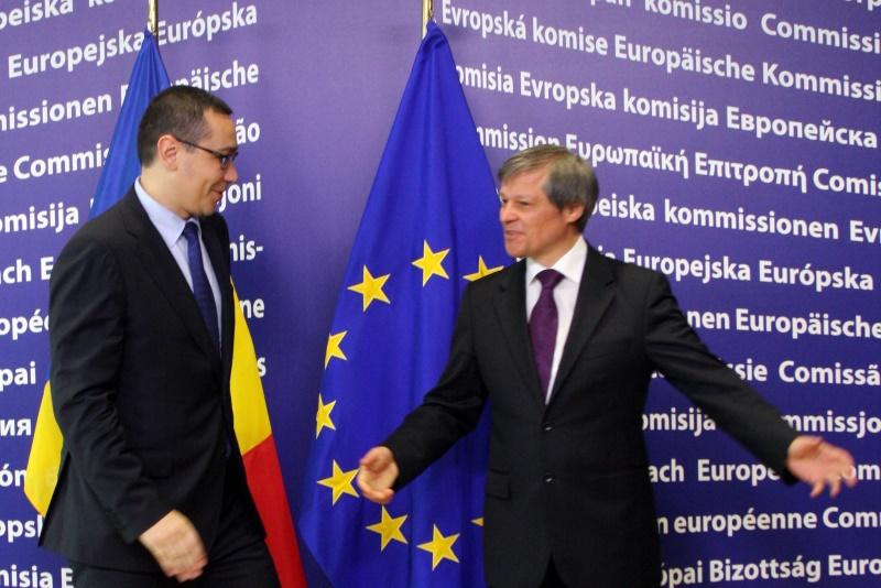 Mesajul premierului Victor Ponta pentru fostul comisar european Dacian Ciolos