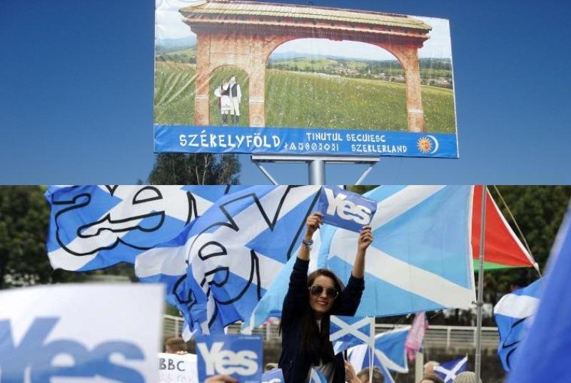 Ce legatura este intre Scotia si Tinutul Secuiesc? Raspunsul vine de la liderul Uniunii maghiarilor din Romania, Kelemen Hunor