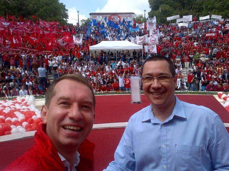 Laudele lui Sturzu pentru Ponta: A intrecut pe Facebook lideri ai Occidentului, ai unor state de doua sau trei ori mai mari ca Romania