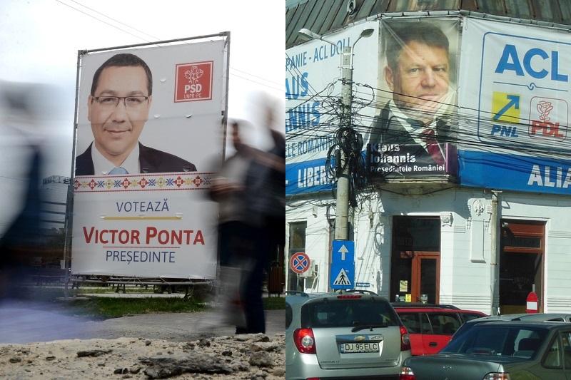 Prima saptamana de campanie - materiale ale lui Ponta, Iohannis si Tariceanu incalca legislatia