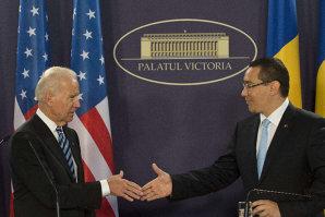 Victor Ponta anunţă că a vorbit la telefon cu Joe Biden, la iniţiativa vicepreşedintelui american. Despre ce au discutat