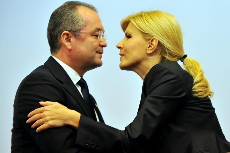 Elena Udrea, in oras cu Traian Basescu si cu Emil Boc