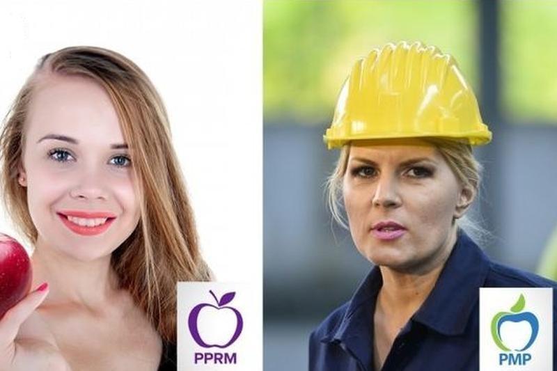 MĂRUL DISCORDIEI: a muscat Elena Udrea din fructul interzis? Moldovenii se pl�ng ca le-a fost furat simbolul electoral