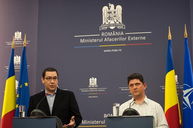 Victor Ponta la MAE: ,,Corlatean si echipa sa de la MAE imi garanteaza cu functiile lor ca pe 16 nu vor ramane romani in afara sectiilor de vot, care sa nu poata sa voteze