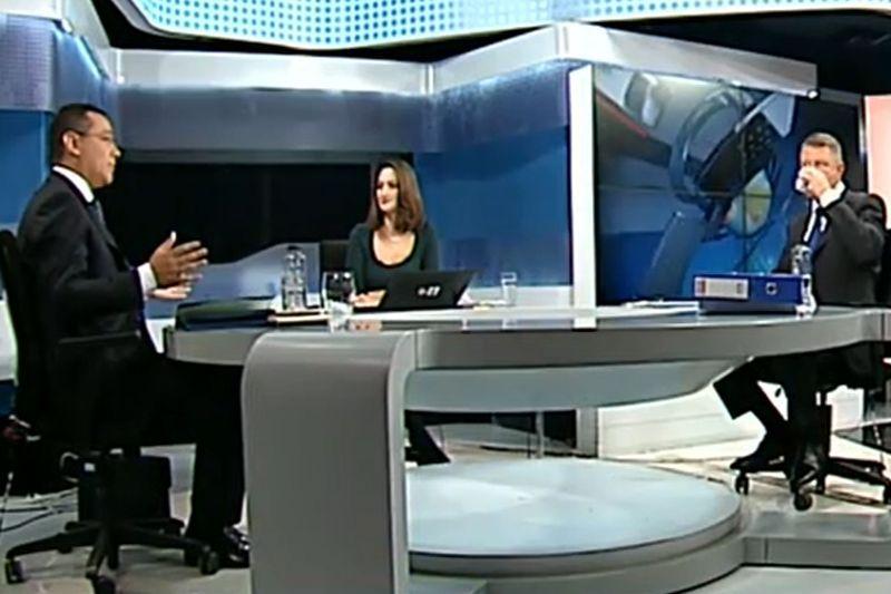 DEZBATERE PONTA-IOHANNIS: CTP: Cine a castigat dezbaterea a doua. Ponta sau Iohannis?