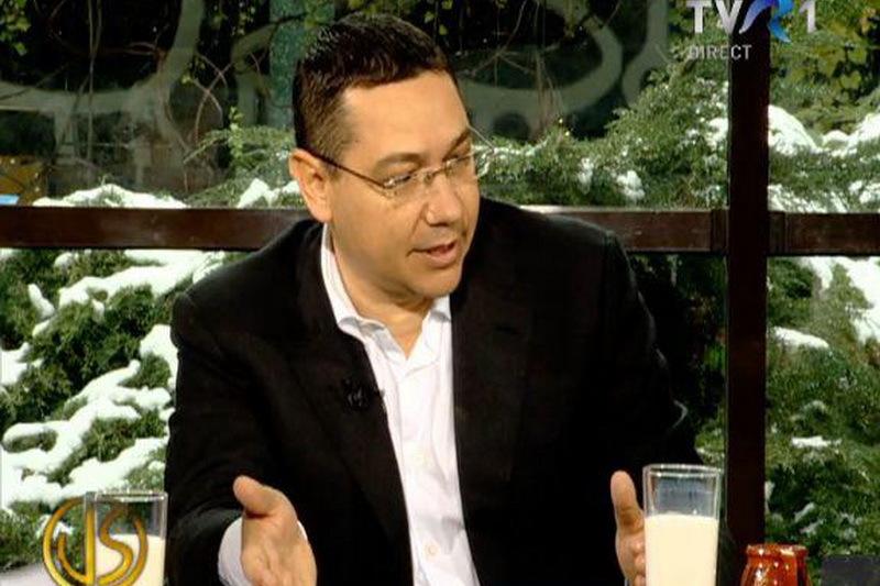 Stelian Tanase: Directorul TVR 1 i-a facut reclama lui Ponta la