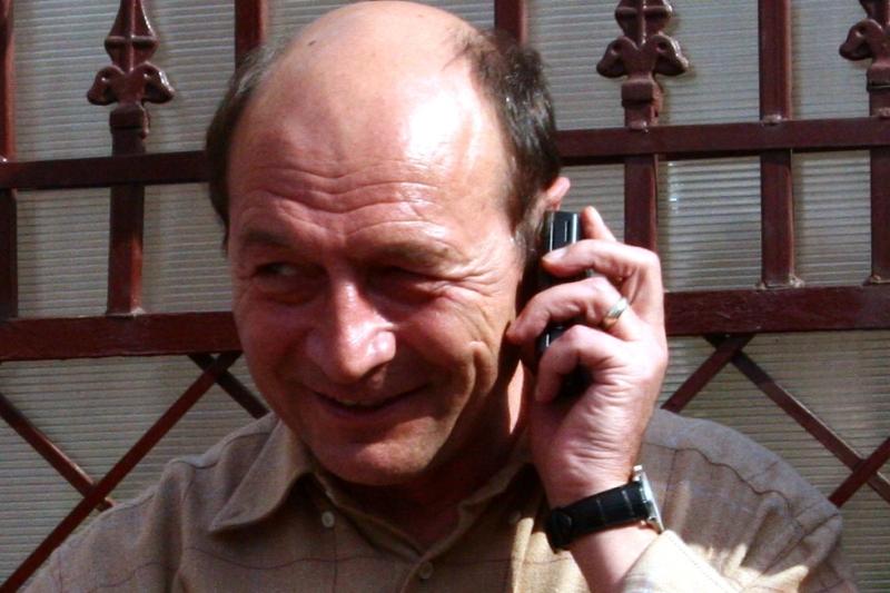 Surpriza! Cu cine a plecat Traian Basescu, aseara, dupa incheierea evenimentului de la Palatul Cotroceni
