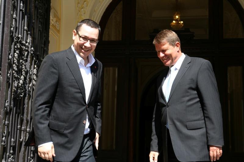 Klaus Iohannis si Victor Ponta, prima intalnire la Cotroceni. Agenda noului presedinte pentru premier: