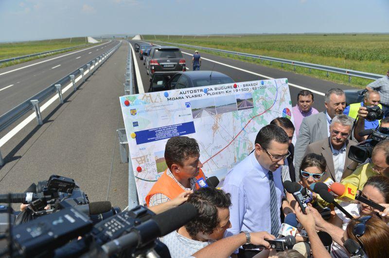 ADIO autostrazi! Anuntul HALUCINANT facut de Victor Ponta in urma cu putin timp
