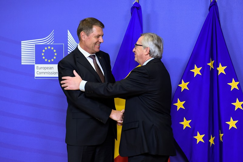 Prima conferinta de presa Iohannis-Juncker. Ce asteapta Bruxelles-ul pentru a primi Romania in Schengen