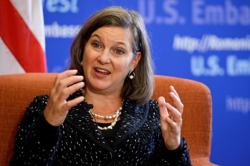 Ce impresie i-a facut presedintele Iohannis emisarului SUA, Victoria Nuland
