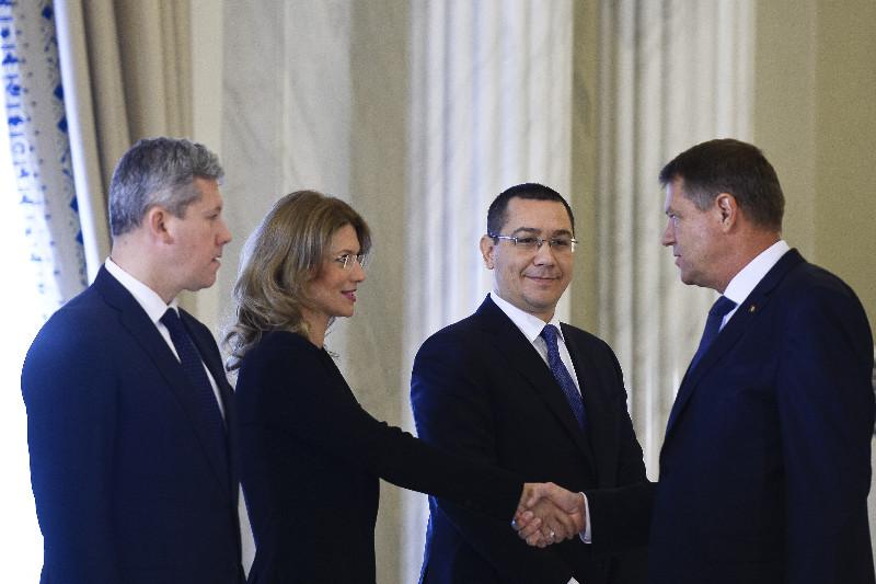 Reactia lui Victor Ponta dupa ce Klaus Iohannis a anuntat ca si-ar dori un nou Guvern