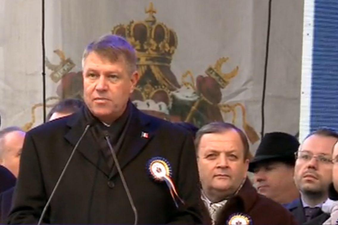 Mesajul lui Klaus Iohannis, de Ziua Unirii: Cu incredere in prezent sa fim, oriunde ne-am afla, un popor al unitatii
