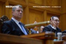 """Iohannis, PRIMUL ATAC la Ponta din cauza noului Cod Fiscal. """"Există o şansă rezonabilă ca printr-o moţiune de cenzură să se schimbe Guvernul"""""""