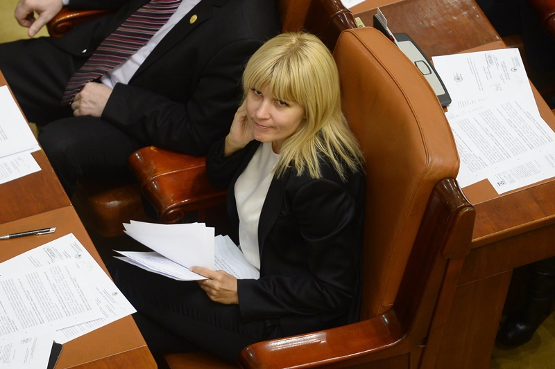 Elena Udrea va merge luni la Parlament, cand deputatii decid daca se intoarce in arest
