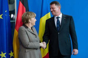 Anunţul făcut de Klaus Iohannis după ce s-a întâlnit cu Angela Merkel
