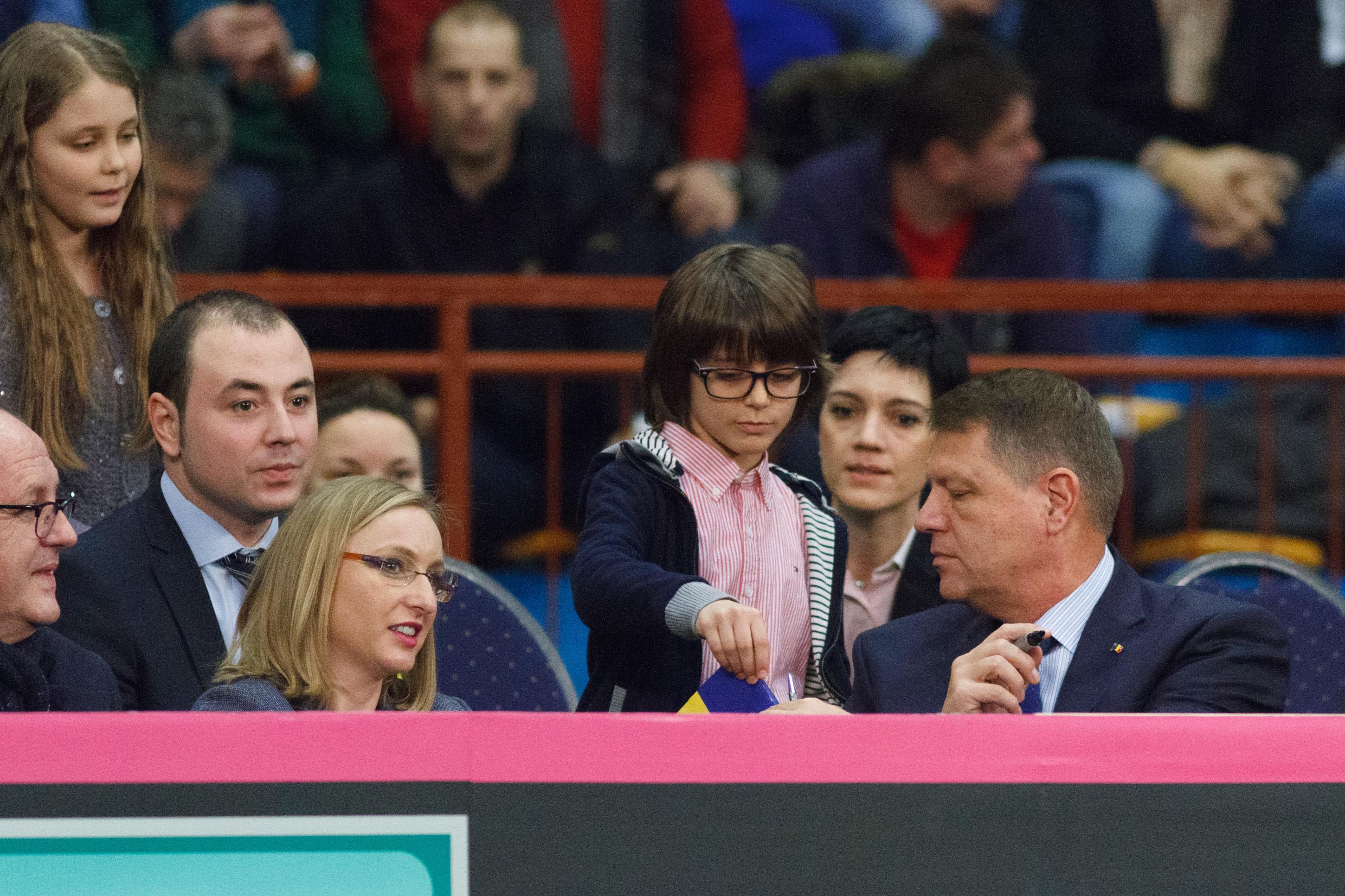Iohannis merge la Cupa Davis de la Sibiu: ,,Voi sustine echipa noastra
