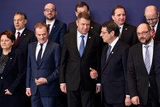 """Iohannis merge la Consiliul European cu soţia: """"România susţine crearea unei Uniuni a Energiei"""""""
