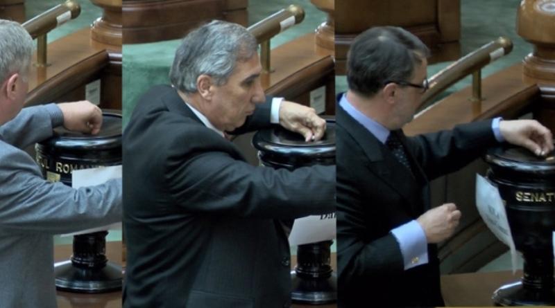 Cine sunt cei 67 de senatori care L-AU SCAPAT pe Sova de Justitie? Gandul a identificat pe INREGISTRAREA VIDEO 35 dintre ei