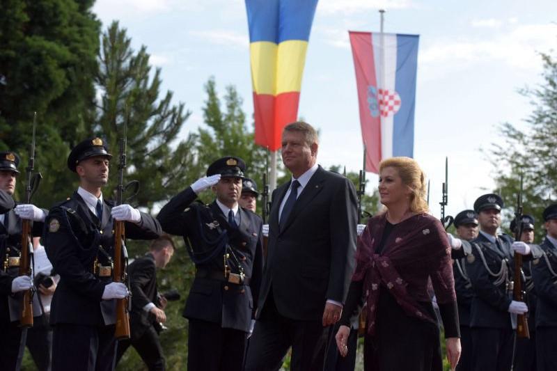 Iohannis se lauda in Croatia: Lupta anticoruptie se desfasoara din plin, suntem intr-o faza fierbinte