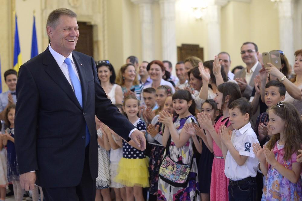 Presedintele Iohannis, despre alocatiile copiilor romani din Austria: