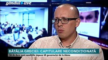 """""""Băsescu a anunţat austeritatea cu ură, Tsipras a fost mai şmecher"""""""