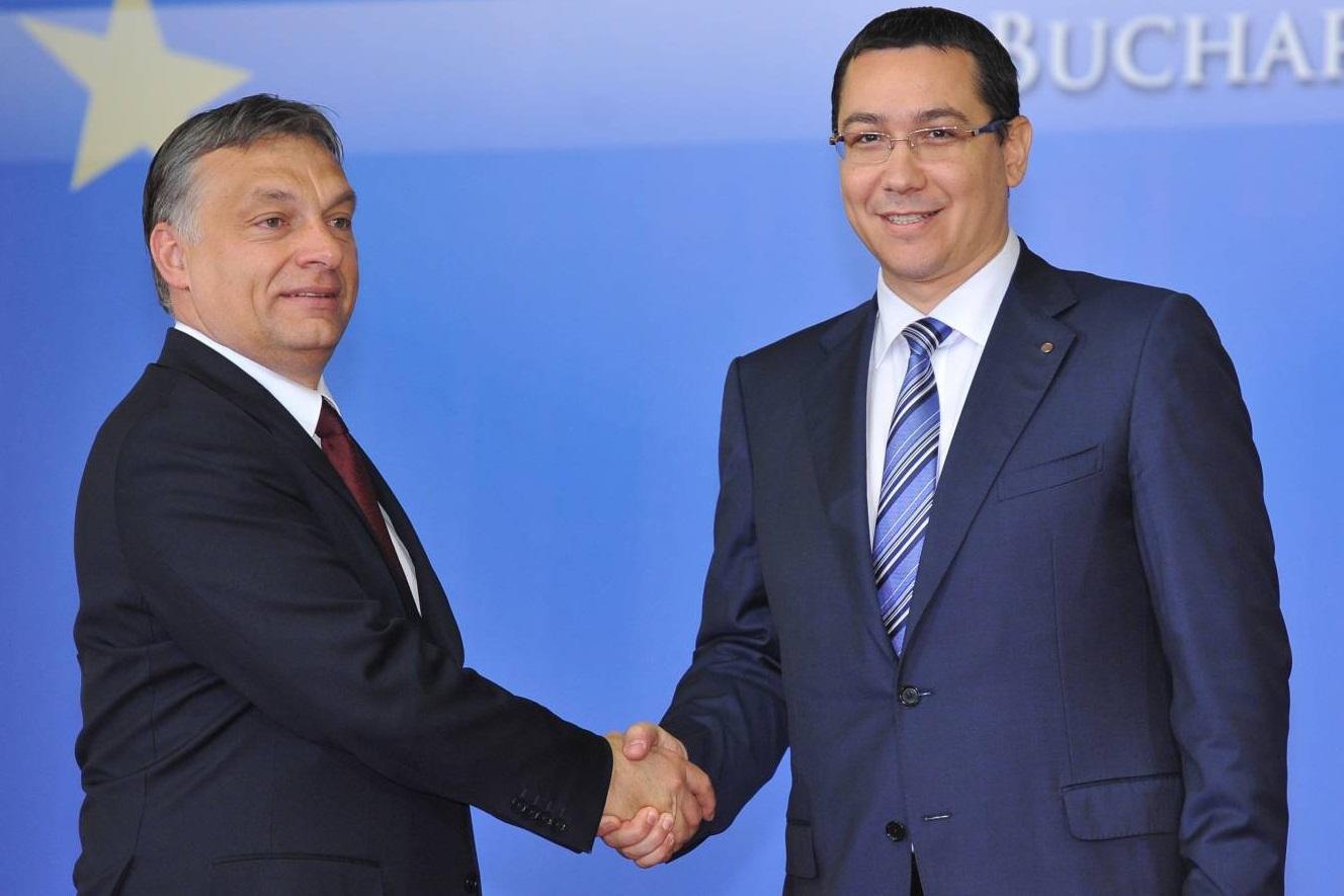 Reactia lui Ponta la provocarile premierului Viktor Orban din ultimele zile: mi-a facut un compliment cand a zis ca pana in 2012 s-a inteles foarte bine cu Romania