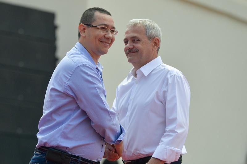 Dragnea despre Ponta: ,,Tanarul meu prieten a facut cateva gesturi anapoda, a parasit o vreme toate aceste reguli ale prieteniei