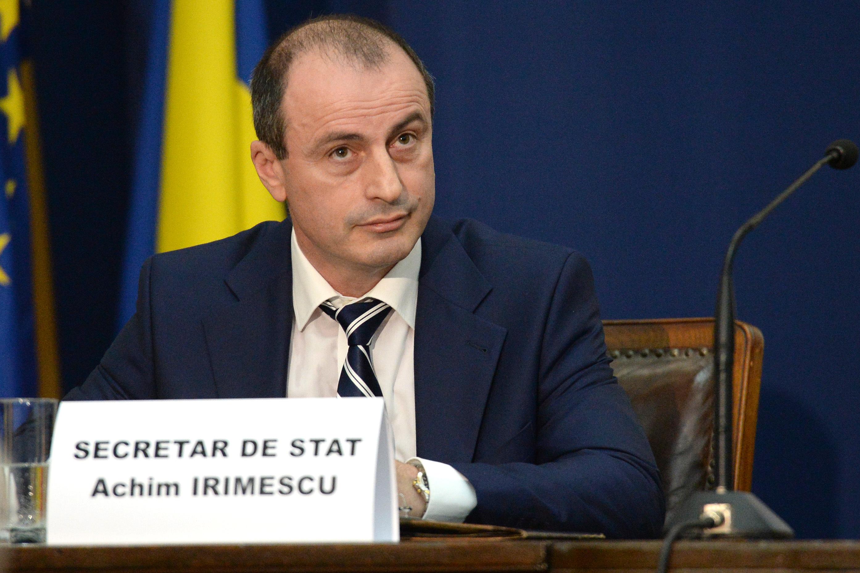 Achim Irimescu, noul ministru al Agriculturii, a fost secretar de stat in guvernele Ponta