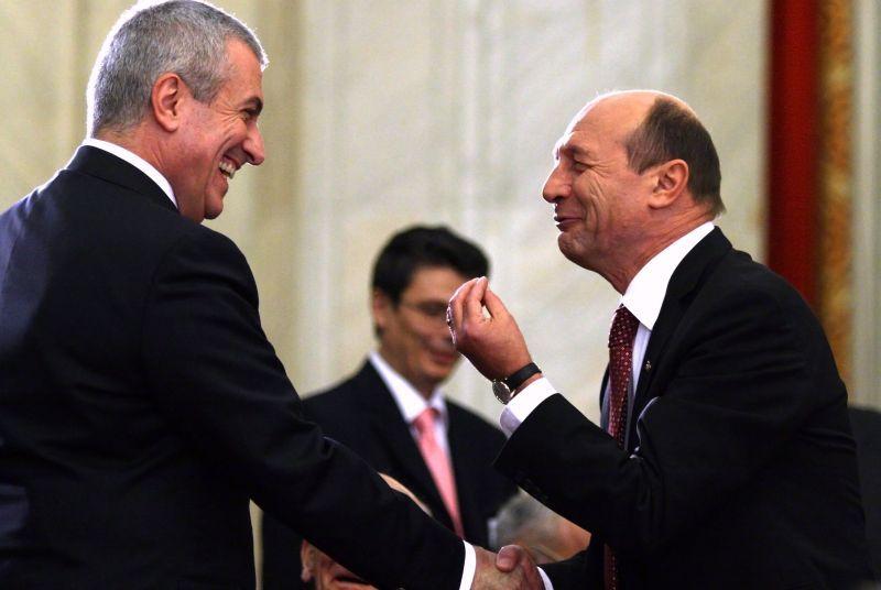Basescu: Ii dau dreptate lui Tariceanu in privinta imunitatii