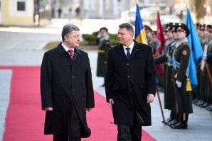 Anunţul Preşedinţiei, după ce Iohannis s-a întâlnit cu Poroşenko