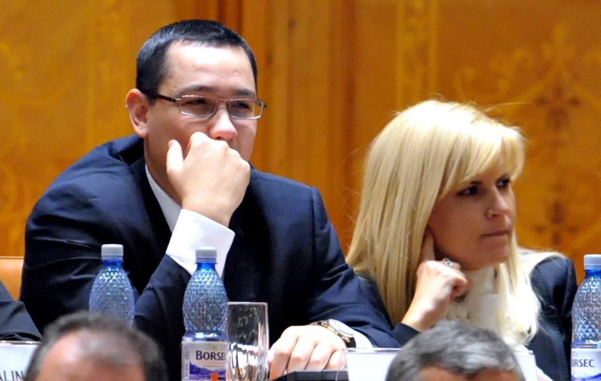 Reactia lui Ponta dupa ce Olguta Vasilescu a fost retinuta: ''Chiar nu era cazul sa fie prima Elena Udrea care sa ia atitudine''