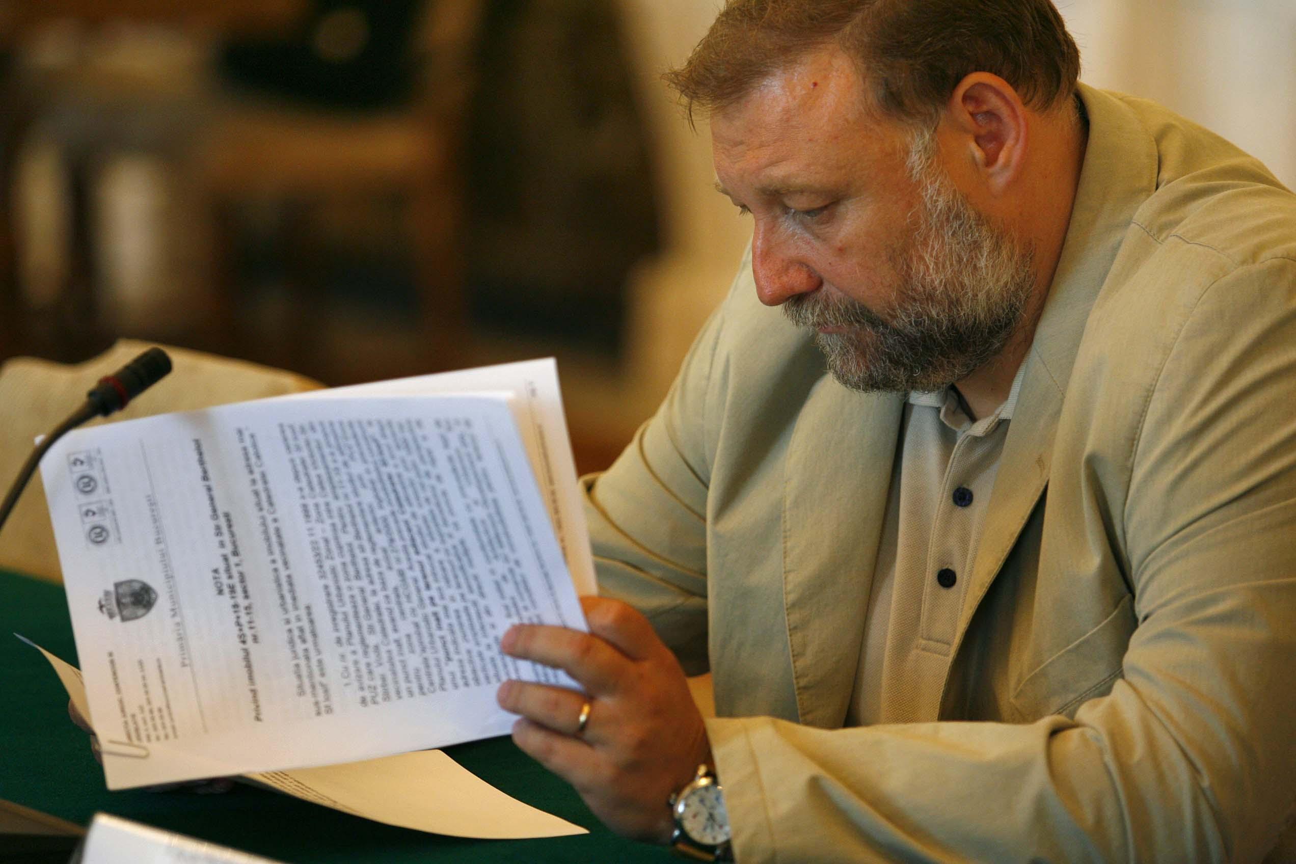 Razvan Murgeanu, fost consilier prezidential, audiat la DNA