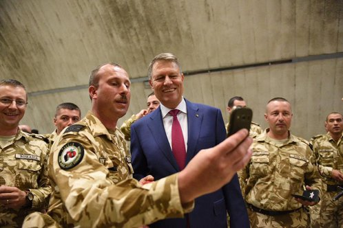 """Iohannis, în Afganistan: """"Cerem sprijin aliaţilor noştri"""""""