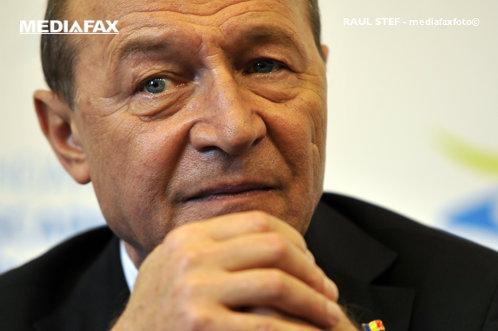 Băsescu vorbeşte despre candidatura sa la parlamentare din partea PMP