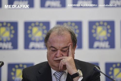 Vasile Blaga demisionează de la conducerea PNL