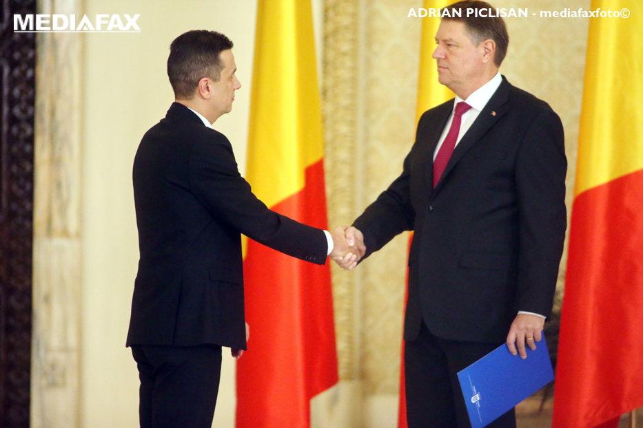 """Iohannis îl cheamă pe Grindeanu la Cotroceni. """"Există îngrijorări privind bugetul pe 2017"""""""