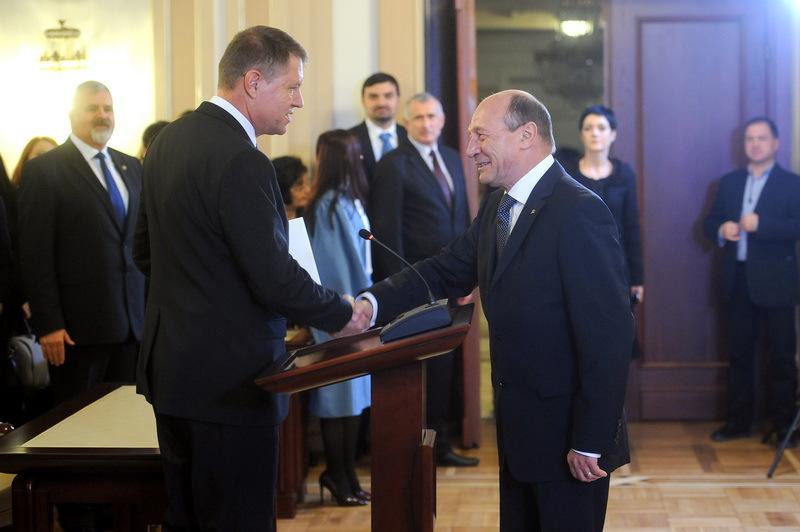 Iohannis, despre înregistrările lui Ghiţă cu Băsescu: A văzut cineva sau a auzit cineva aceste înregistrări?