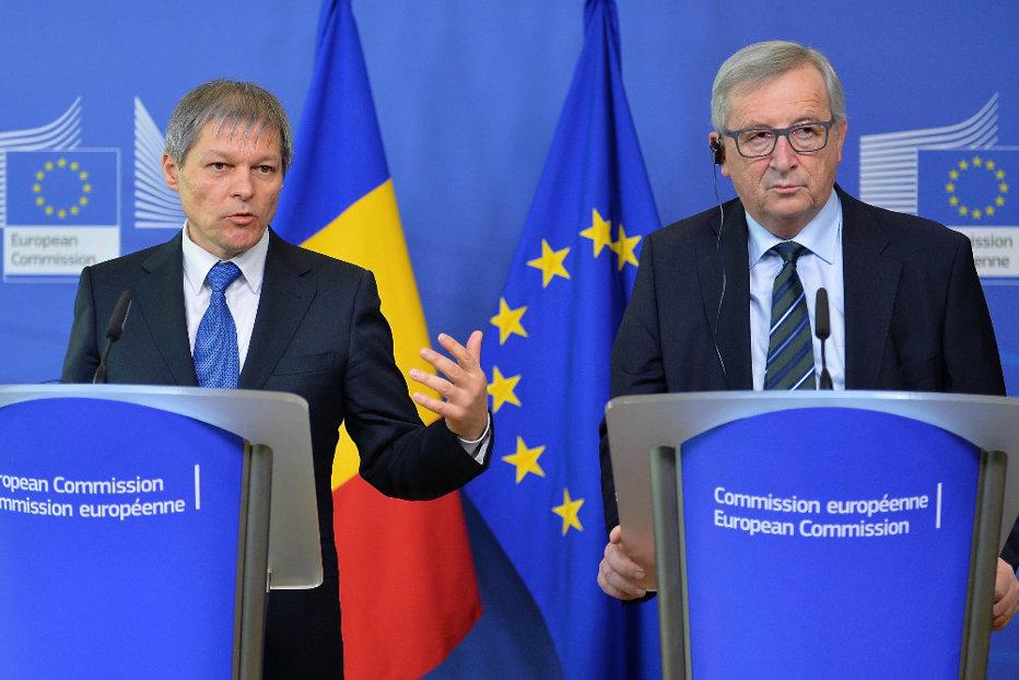 Cioloş a discutat cu Juncker despre cele cinci scenarii privind viitorul UE. Ce se va întâmpla cu România