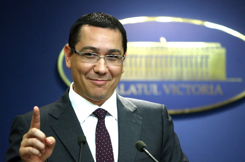 Victor Ponta, numit şef al Secretariatului General al Guvernului