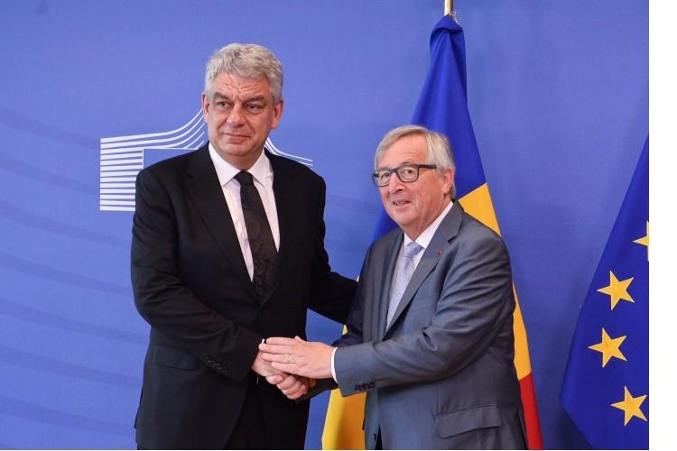 Tudose, prima vizită la Bruxelles: Am reiterat foarte ferm că nu vom introduce impozitul pe cifra de afaceri. VIDEO