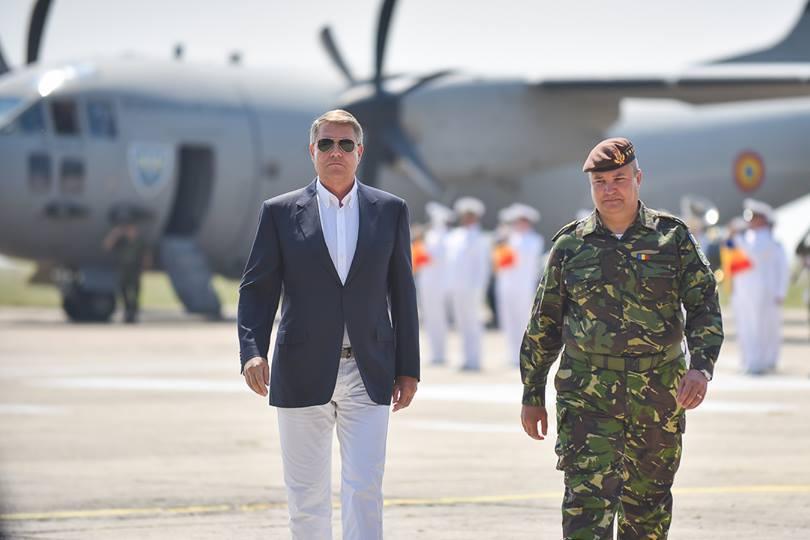 Iohannis, despre sistemul de rachete Patriot: Noi am lansat o solicitare principială către partea americană