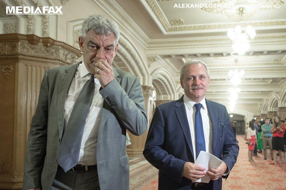 Întâlnire-fulger Dragnea-Tudose, la sediul Guvernului. Ce au discutat cei doi