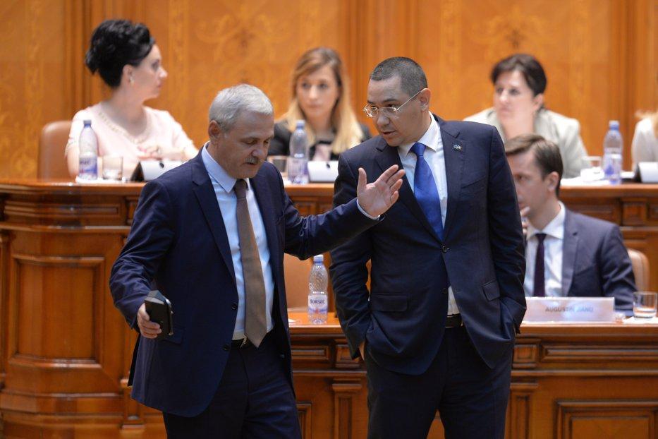 Dragnea: Ponta era cu mâna pe sus să-l cheme DNA la audieri. Îi urez tot ce-mi doreşte şi el mie